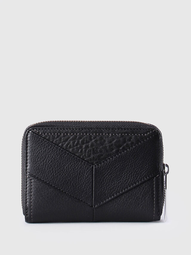 Diesel - JADDAA, Black Leather - Small Wallets - Image 2