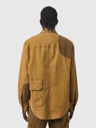 Diesel - D-CORUS-SP3 JOGGJEANS, Brown - Denim Shirts - Image 2