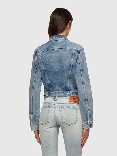 Diesel - DE-LIMMY, Light Blue - Denim Jackets - Image 2