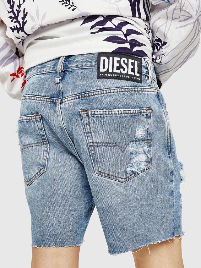 Diesel - D-KIRM, Blue Jeans - Shorts - Image 2