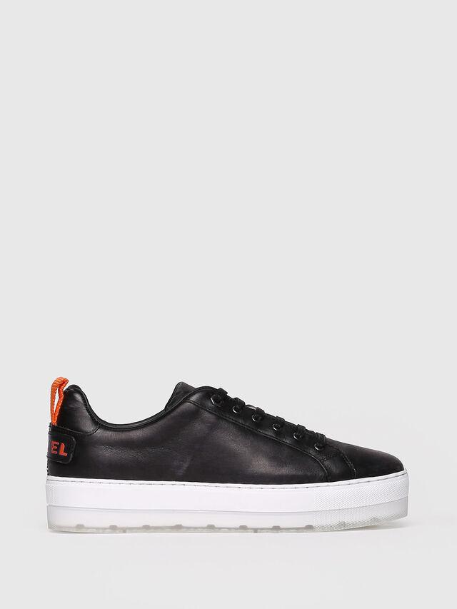 Diesel - S-LENGLAS LOW LACE, Black - Sneakers - Image 1