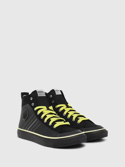 Diesel - S-ASTICO MC H, Black/Yellow - Sneakers - Image 2