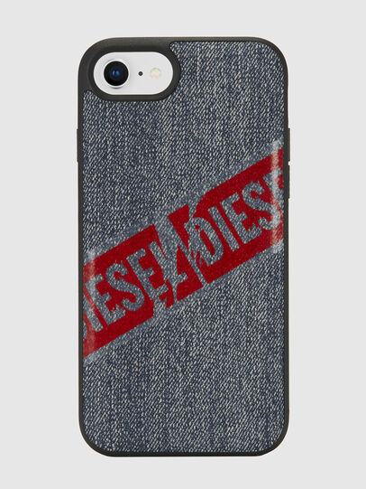 Diesel - VINTAGE DENIM IPHONE 8/7/6S/6 CASE, Blue Jeans - Cases - Image 2