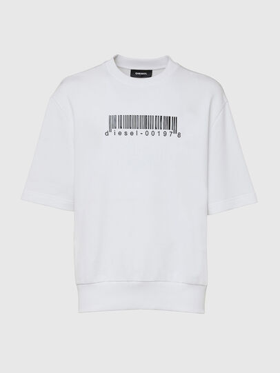 Diesel - S-COOLING-X10, White - Sweaters - Image 1