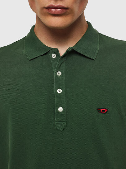 Diesel - T-NIGHT-NEW, Dark Green - Polos - Image 3