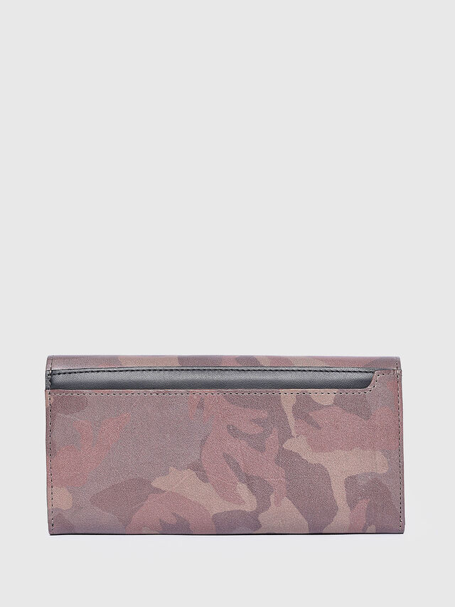 Diesel - 24 A DAY, Light Brown - Continental Wallets - Image 2