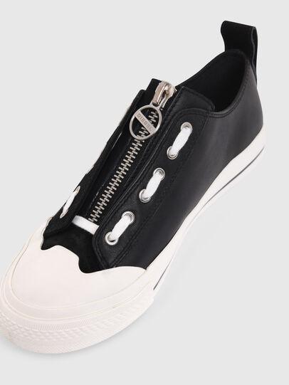 Diesel - S-ASTICO LZIP W, Black - Sneakers - Image 5