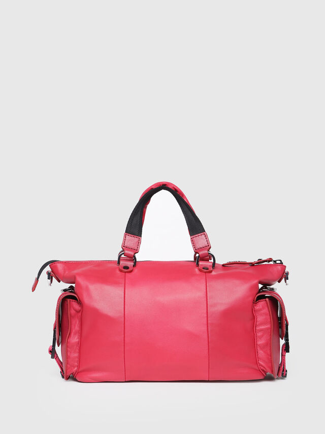 Diesel - MISS-MATCH SATCHEL M, Hot pink - Satchels and Handbags - Image 2