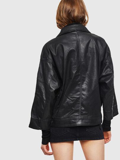 Diesel - D-JINNIUS JOGGJEANS, Black - Denim Jackets - Image 2
