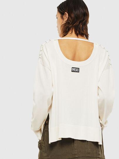 Diesel - M-PERLA-A, White - Knitwear - Image 2