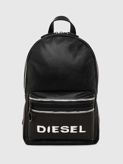 Diesel - ESTE, Black/White - Backpacks - Image 1