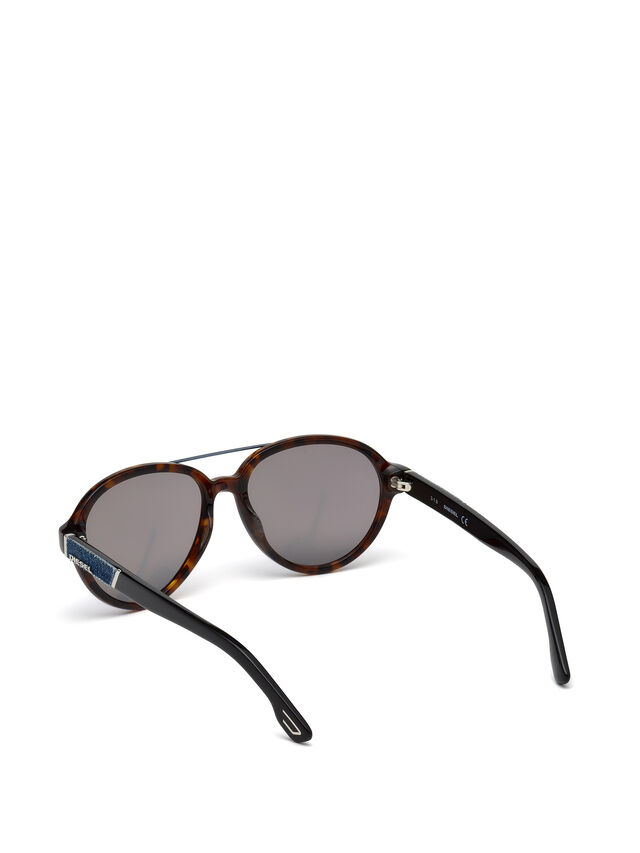 Diesel - DL0214, Brown - Eyewear - Image 2