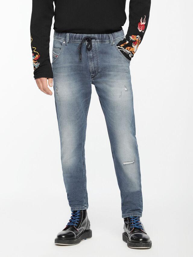 Diesel - Krooley JoggJeans 084UC, Light Blue - Jeans - Image 1