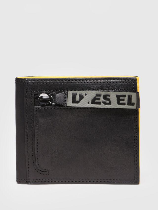 Diesel - NEELA S, Black/Yellow - Small Wallets - Image 1