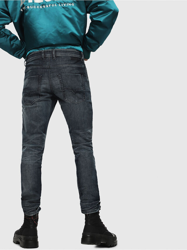Diesel - Krooley JoggJeans 087AI, Dark Blue - Jeans - Image 2
