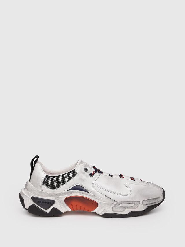 Diesel - S-KIPPER LC, White - Sneakers - Image 1