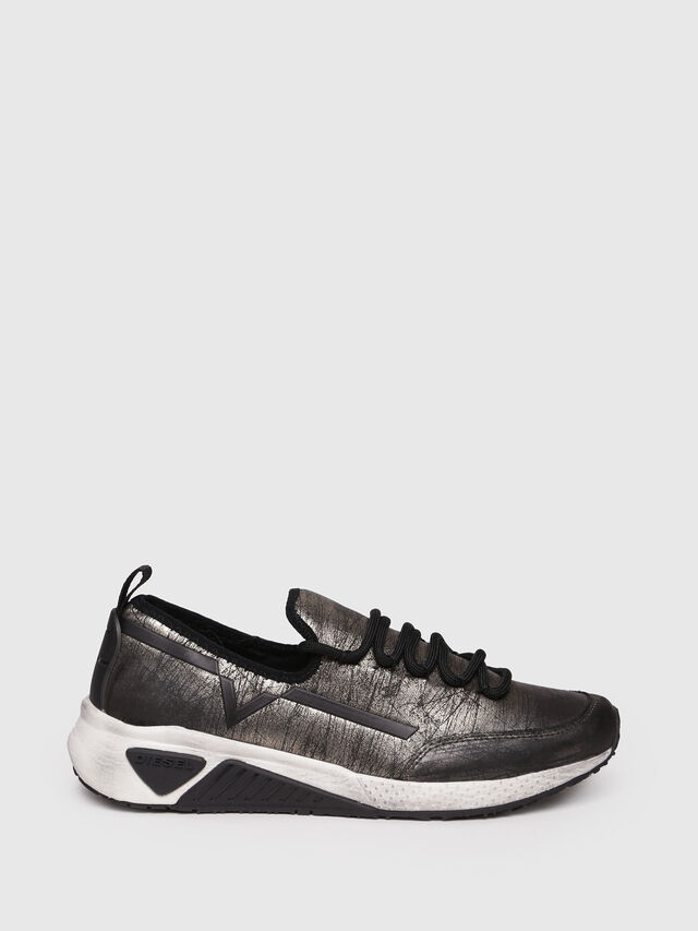 Diesel - S-KBY, Gold/Black - Sneakers - Image 1