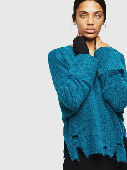 Diesel - M-MARIKAX, Blue Marine - Knitwear - Image 5