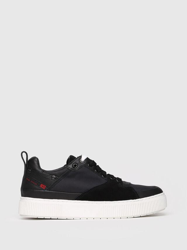 Diesel - S-DANNY LC W, Black - Sneakers - Image 1
