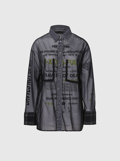 Diesel - C-TULLA, Black - Shirts - Image 1