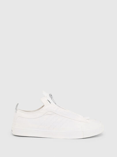 Diesel - S-ASTICO LOW ZIP SP, White - Sneakers - Image 1