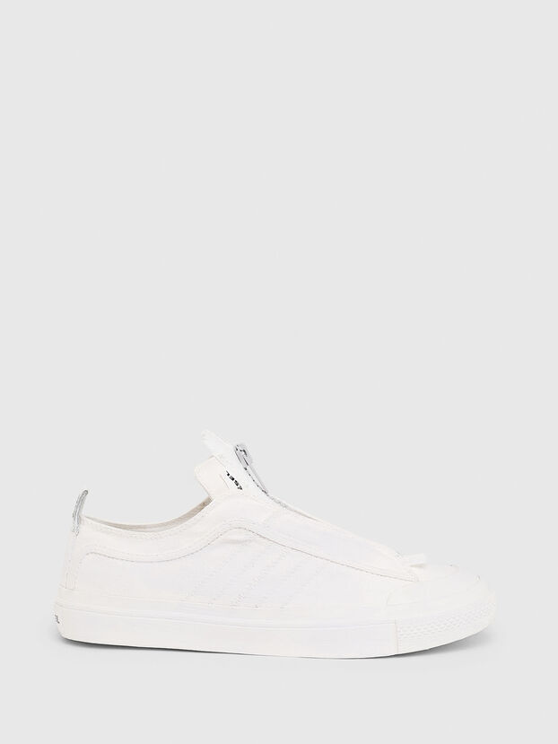 S-ASTICO LOW ZIP SP, White - Sneakers