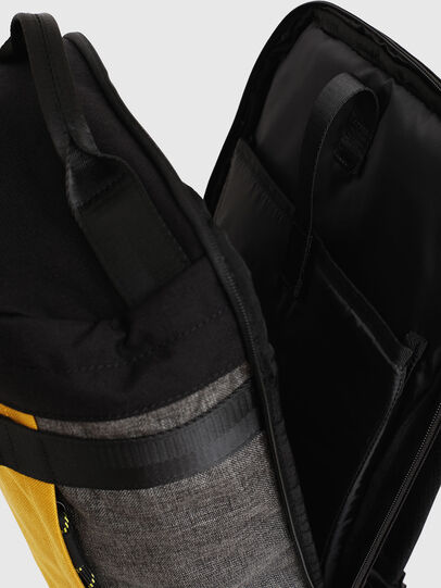 Diesel - PIEVE, Black/Yellow - Backpacks - Image 5