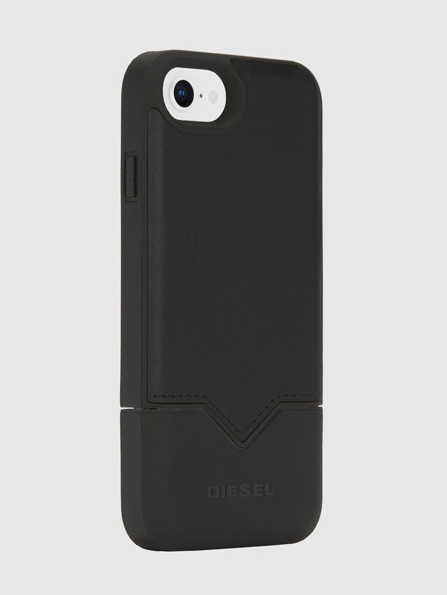 Diesel - CREDIT CARD IPHONE 8/7/6S/6 CASE, Black - Cases - Image 4