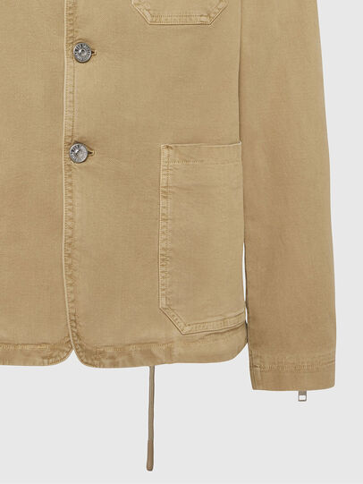 Diesel - D-GYACK JOGGJEANS, Light Brown - Denim Jackets - Image 5