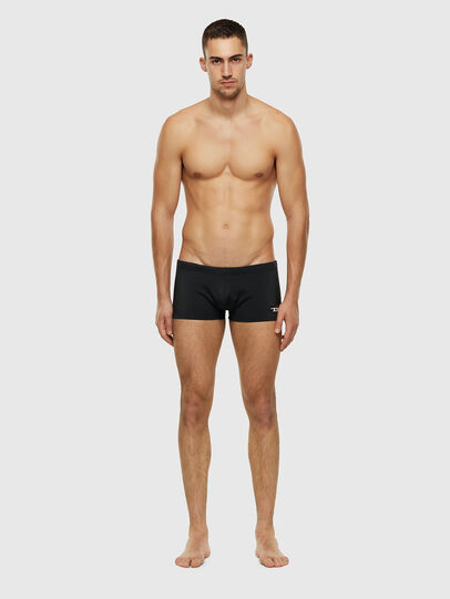 Diesel - BMBX-HERO, Black - Swim trunks - Image 1