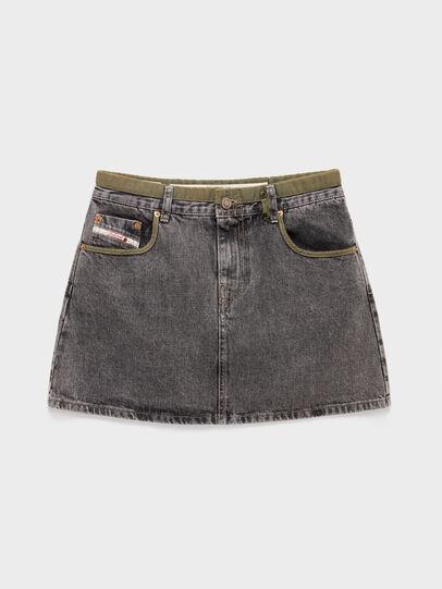 Diesel - DxD-SKIRT, Black - Skirts - Image 1