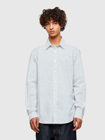 Diesel - S-RILEY-KA-A, White - Shirts - Image 1