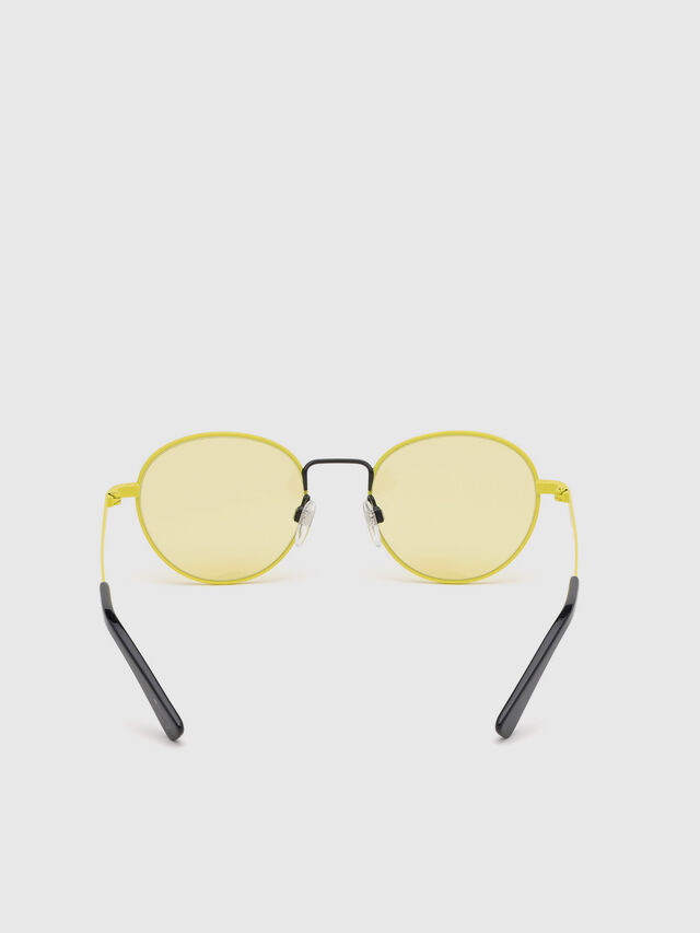 Diesel - DL0290, Yellow - Sunglasses - Image 4