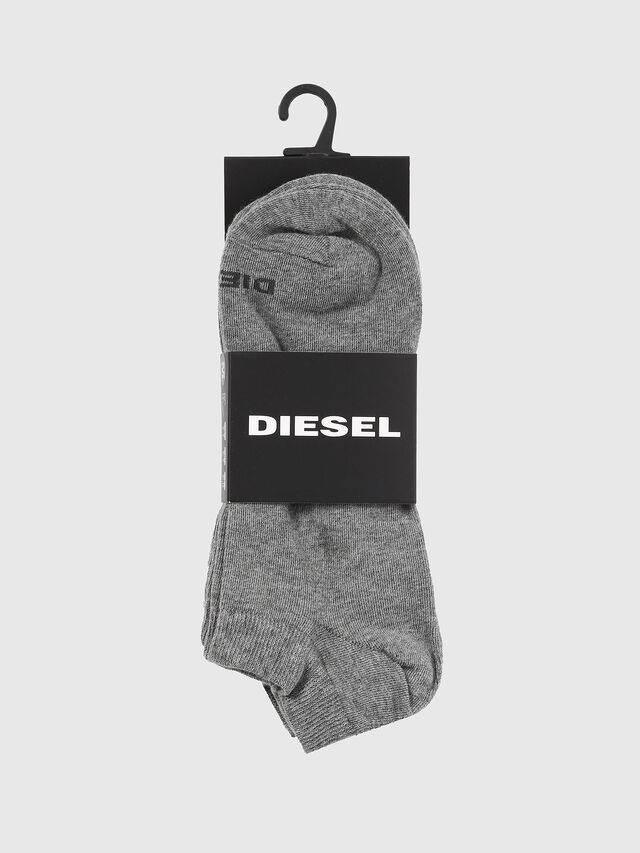 Diesel - SKM-GOST-THREEPACK, Grey - Low-cut socks - Image 2
