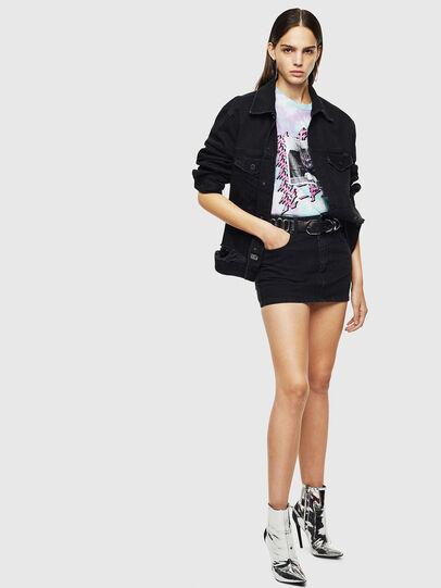 Diesel - DE-EISY, Black - Skirts - Image 6
