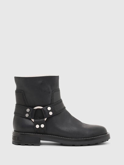 Diesel - D-THROUPER AB W, Black - Ankle Boots - Image 1
