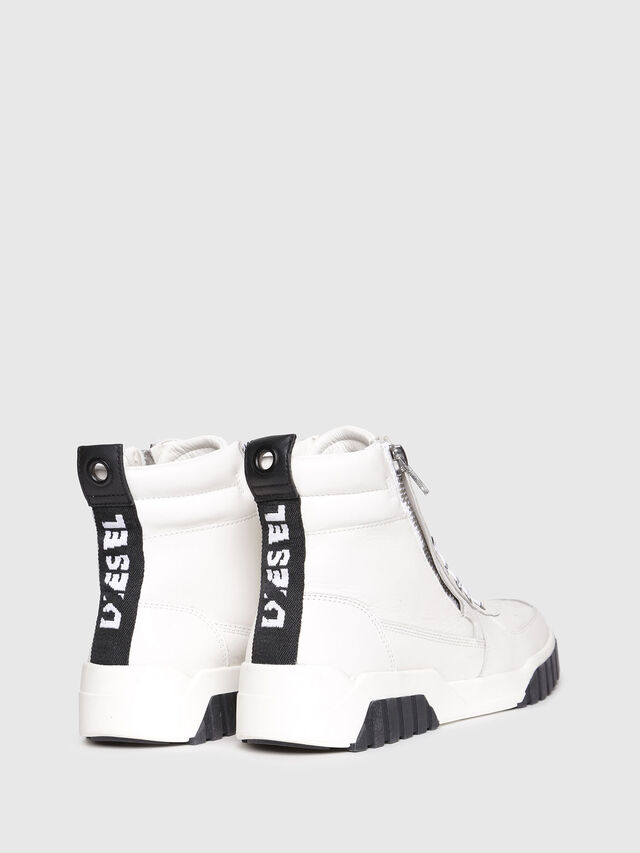 Diesel - S-RUA MC W, White - Sneakers - Image 3