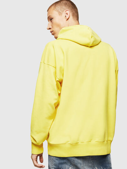 Diesel - S-ALBY-B8, Yellow - Sweaters - Image 2