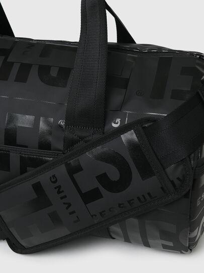 Diesel - X-BOLD DUFFLE, Black - Travel Bags - Image 5