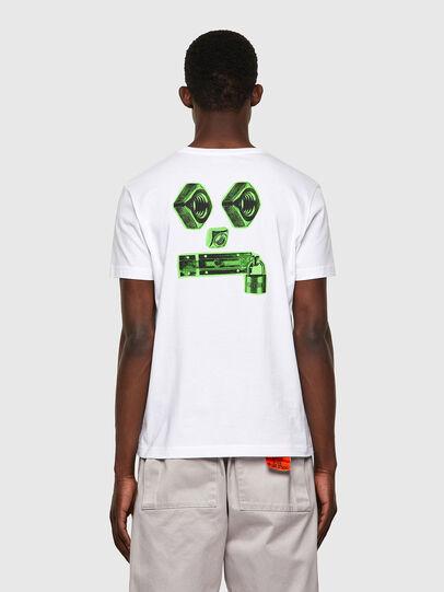 Diesel - T-DIEGOS-B4, White - T-Shirts - Image 2