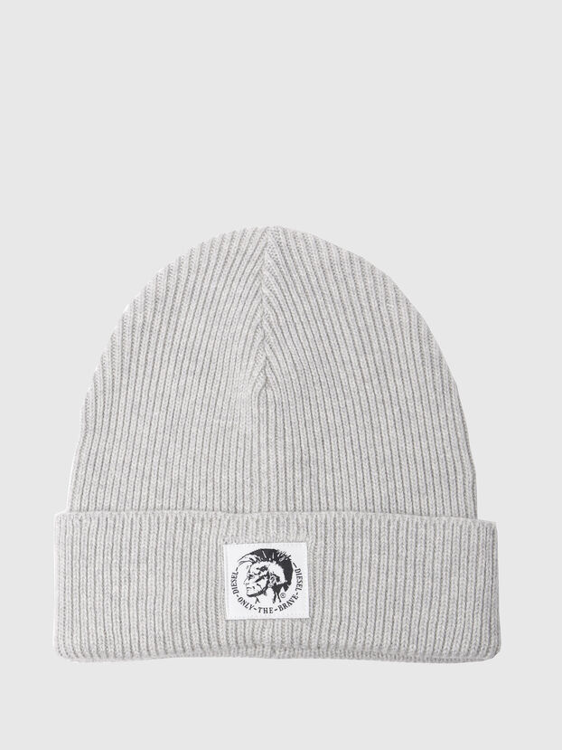 K-CODER, Light Grey - Knit caps
