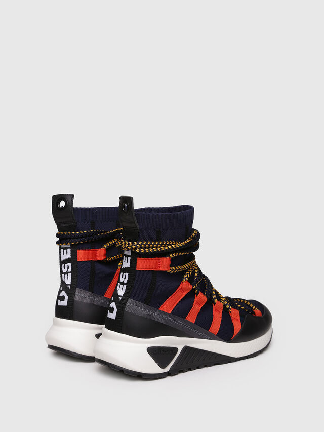 Diesel - S-KB LOOP SOCK, Black/Red - Sneakers - Image 2