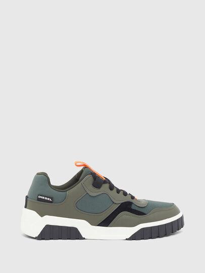 Diesel - S-RUA LOW SK, Olive Green - Sneakers - Image 1