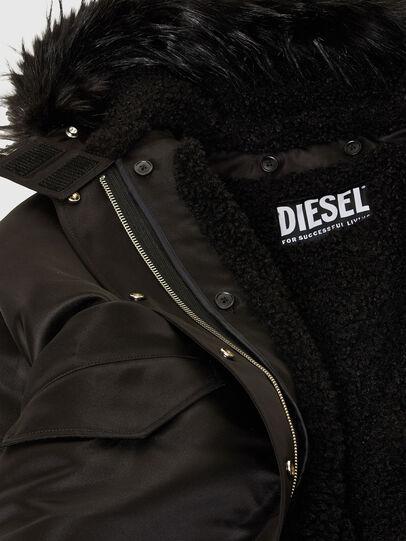 Diesel - W-URSULA-A, Black - Winter Jackets - Image 8