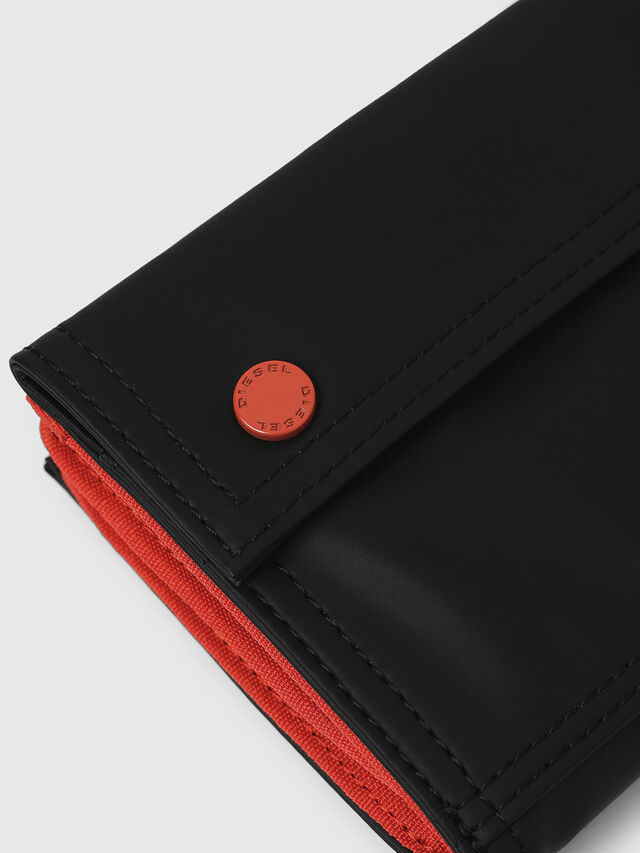 Diesel - YOSHI, Black/Red - Small Wallets - Image 4