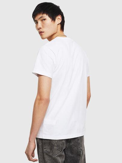 Diesel - T-DIEGO-S8, White - T-Shirts - Image 2