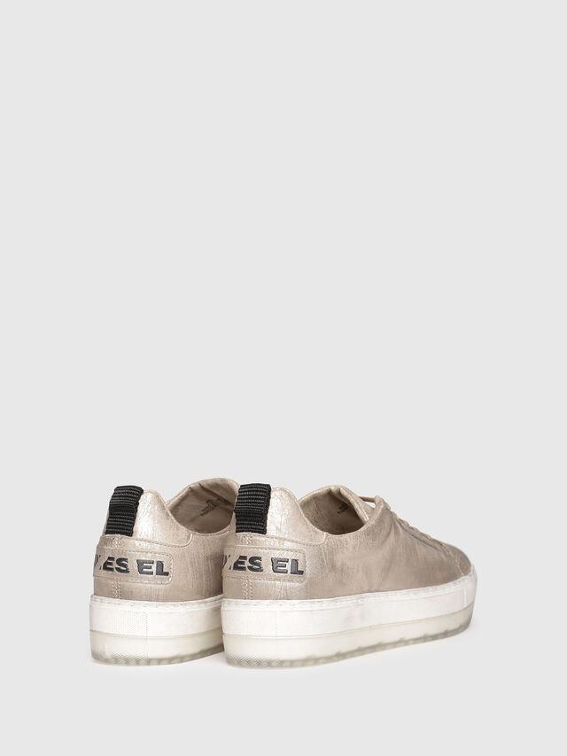Diesel - S-LENGLAS LOW LACE, Gold - Sneakers - Image 3