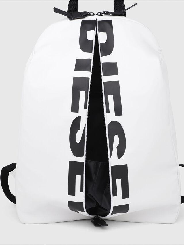 Diesel - F-BOLD BACK, White/Black - Backpacks - Image 4