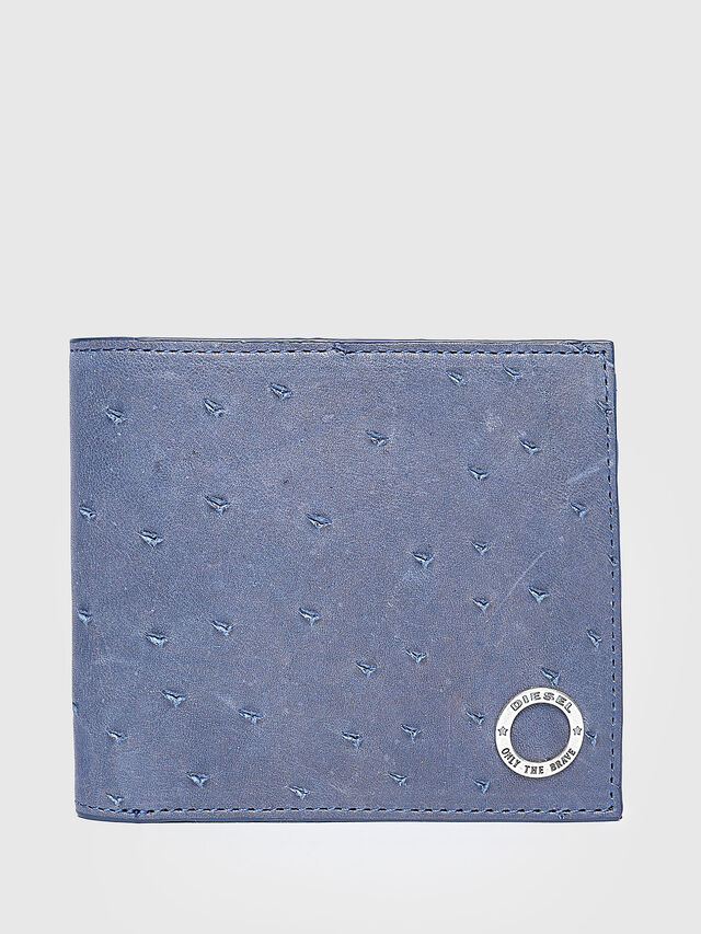 Diesel - HIRESH S, Light Blue - Small Wallets - Image 1