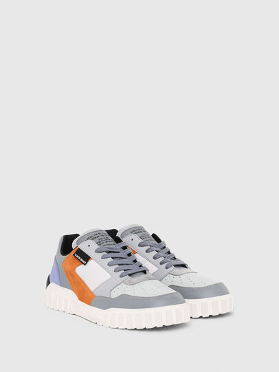 Diesel - S-RUA LOW90, Grey - Sneakers - Image 2